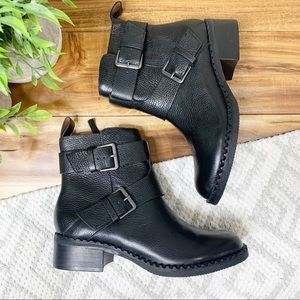 NEW! GENTLE SOULS Benton Leather Ankle Moto Boots